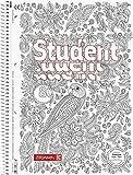 Brunnen Collegeblock A4 - LINIERT - Zen-Art - 80 Blatt mit Rand, 90g/m² - inkl. Zen-Art Bild (10-67427)