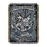 Harry Potter Woven Tapestry Decke, gryffindor | hufflepuff | ravenclaw | Slytherinhaus Decke 116X150CM