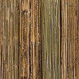 Bambusmatte Bambussichtschutz 400x100 cm