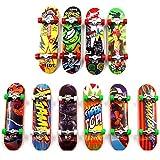 Sipobuy Baby Kinder Mini Skateboard Spielzeug Fingerboard Tech Deck Jungen Kinder Geschenke 3pcs