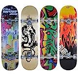 Hansson.Sports Skateboard Komplett Board 79x20cm - Motiv C