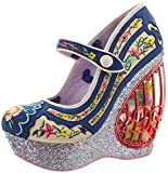Irregular Choice Plateau-Pumps AVA'S AVIARY 4408-1A navy (EU 42, multi)