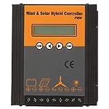 Shipenophy PWM Wind Solar Hybrid Laderegler Solar Laderegler zur Steuerung(Fan 200w solar 100w)