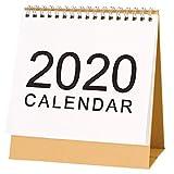 Schreibtischkalender, Tischkalender Büro 2020, Stehkalender, Septembre 2019 - Décembre 2020 Aufstellkalender Für Familie Oder Geschäftsstelle