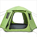 Buyall 3-4 Man Pop Up Camping-Zelt, sofortiges automatisches bewegliches Backpacking Familienzelt, 4...