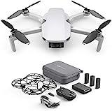 DJI Mavic Mini Fly More Combo (EU) - kit de drone et d'accessoires, léger et portable, temps de vol: 30 min, distance de transmission: transmission vidéo HD 2 km, cardan 3 axes, 12 MP, vidéo HD 2,7 K.
