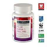 NEOBOTANICS Kaltextrahierte Premium Krillöl Kapseln - 600mg hochdosierte Reinsubstanzen pro Kapsel - 60 Stück - Höchste Omega 3-6-9 EPA + DHA Fettsäuren, Phospholipide + Astaxanthin, Cholin