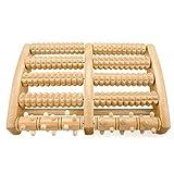 Osaloe Fumassageroller, Dual Furoller aus Holz fr deme, Plantarfasziitis, Fu Schmerzlinderung, Stressabbau