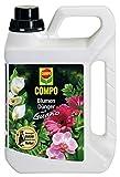 COMPO Blumendünger mit Guano für alle Zimmer-, Balkon- und Terrassenpflanzen, Universaldünger, 2,5 Liter