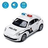 Reibungsgetriebenes Polizeiauto 1:32 Spielzeugfahrzeug fr Kinder mit Blitzlicht und Ton