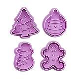 Scones Ausstechformen-Set für Kekse und Gebäck, niedliche Form, einfach zu bedienen, geeignet für Kekse und Gebäck, geeignet für jede saisonale Feier