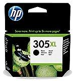 HP 305XL 3YM62AE Original-Tintenpatrone, hohe Leistung, Schwarz, kompatibel mit HP DeskJet Serien 2700, 4100, Envy Serie 6020, 6030, 6400 und 6430