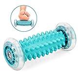 NOTENS Fußmassagegerät Fußroller, Kleine Faszien-Rolle Fuß Massage Roller Entlastung von Schmerzen und Verspannungen, Muscle Roller Stick (Blau)