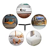 4 Bettlakenspanner, Verstellbare Bettlakenspanner 3-Fach Verstellbare Dreieck-See-Trger, Elastische See-Trger-Hosentrger Fr Bettwsche, Matratzenbezge & Sofakissen