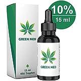 GREEN MED   15 ml - 450 Tropfen   Premium Qualität   Kontrolliert & Natürlich - Made in Germany