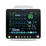 Portable Multi-parameter 12 Inch Vital Sign Patient Monitor