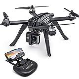 Drone GPS Potensic avec caméra 2K, quadricoptère WiFi FPV RC, double GPS, transmission en direct, moteur sans balais, grand angle de 130 °, suivez-moi, maintenez la hauteur, mode sans tête pour caméra d'action et expert D85