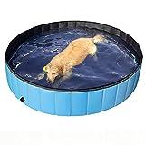 Hundepool 120X30Cm Faltbarer Pool Haustierbadewanne Badewanne Haustierpool Zusammenklappbarer Badepool Für Hunde Katzen 30*100