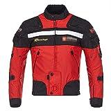 RXDRO Textil Motorrad Jacke Warme Herbst- Und Winterradbekleidung, Offroad-MotorräDer Und Mountainbikes MäNner Frauen ReitausrüStung FüR Den AußEnbereich