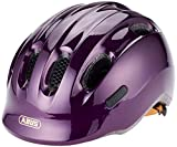 Abus Smiley 2.0, Unisex kinder Fahrradhelm,violett (royal purple), M (50-55 cm)