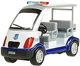Zhangl 4 Sitz Patrol Polizei-Auto 1.32 Simulation Car Boy Toy Modell Alloy Pull Back-Spielzeug-Auto Metall-Spielzeug-Auto Simulation Mini-Spielzeug-Auto-Dekoration