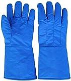 MHYNLMW Kälteschutz und hält warme Handschuhe bei niedriger Temperaturbeständigkeit, blau, 60 cm