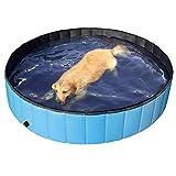 Yaheetech Hundepool Swimmingpool Planschbecken Badewanne Wasserbecken fr Hunde 160 x 30 cm