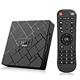 Bqeel Android TV Box /4GB+64GB/ Android 9.0 TV Box HK1 MAX mit RK3328 Quad-Core 64bit Cortex-A53 / WiFi 2.4GHz/ 5GHz/ 802.11 b/g/n Gigabit/ 4K HD Smart TV Box Android Box Media Player