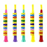 Daxoon Flöten Spielzeug 1pcs Kinder Baby Kunststoff 13-Tasten Blockflöte Piccolo Spielzeug Zufällige Farbe