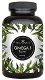 Omega 3 Fischöl Kapseln - 365 Kapseln im Jahresvorrat - Premium mit 1000mg Fischöl je Kapsel und den Omega 3 Fettsäuren EPA und DHA – aus nachhaltigem Fischfang, ohne unerwünschte Zusätze
