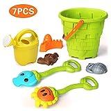 Strandspielzeug für Kleinkinder,Weiche Material LKW Formen mit Netzbeutel Sand und Wasserspiel für Kinder Jungen Mädchen Wasserspielzeug,F