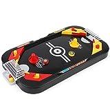 Kurphy 2 In 1 Eishockey Tischspiel Wettkampfspiel Mini Fußball Tisch Eltern-Kind Interaktives Kinderspielzeug