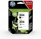 HP 3JB05AE, HP 304 Tintenstrahldrucker-Patrone, 2 Stück