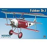 Unbekannt Eduard Plastic Kits 7438 - Modellbausatz Fokker Dr.I Weekend Edition