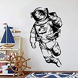 ganlanshu Raum Astronaut Universum Wandtattoo Dekoration Kinderzimmer Daumen Vinyl Aufkleber Wohnzimmer Moderne Hauptdekoration 45cmx85cm