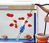 Guoyajf Aquarium Kiesreiniger - Elektrischer Automatischer Vakuumwasser-Wechsler-Flexibler Aquarium-Sand-Algen-Reiniger-Filter-Wechsel, Siphon-Reinigungs-Fisch-Aquarium-Siphon