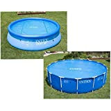Intex Solar Cover Pool - Solarabdeckplane -  348 cm - Fr Easy Set und Frame Pool