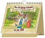 Aufstellkalender 'Der Hundertjährige Kalender' 2021: 15 x 13 cm