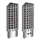Harvia Saunaöfen Glow Corner - 6.8 kW, Steuereinheit: Eingebaut