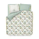 PIP Studio Bettwäsche Singerie weiß 1 Bettbezug 135 x 200 cm + 1 Kissenbezug 80x80 cm