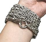 penixon volle Stahl Selbstverteidigung Hand Armband Kette (Silber)
