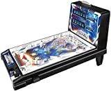 Space Pinball Toy Weltraum-Flipper-Spielzeug Mini Flipper Spielzeug Kinder Spielen Flipper Eltern-Kind-Puzzle-Flipper (Color : Black, Size : 42 * 24.5 * 27cm)