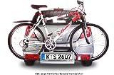 Fahrradträger Kennzeichen Eurovariante 520mm x 110mm