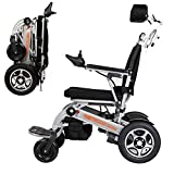WLD Faltbarer Spielraum Leichter Motor Electric Power Rollstuhl-Scooter, Aviation Travel Safe Elektro-Rollstuhl Starkstrom Rollstuhl, New Model 2019 ghdfgsdfsda