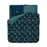 PIP Studio Bettwäsche Singerie dunkelblau 1 Bettbezug 200 x 200 cm + 2 Kissenbezüge 80 x 80 cm