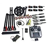 QWinOut ARF/PNP Full Set Hexacopter DIY Drone Kit Tarot 690mm Frame with 750KV Motor GPS PIX 2.4.8 32 Bit Flight Controller (PNP)
