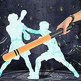 Neel 2 verschleißfeste Schlagstöcke, Boxstab mit leichtem ergonomischem Design, für MMA für das Sporttraining(Tyrant Gold)