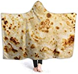 TYHYT Decke Warm Hoodie Blanket Burrito Hooded Throw Wrap Cape Cloak Bathrobe Womens Thermal TV...