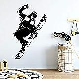 wukongsun Schöne Skateboard wandaufkleber abnehmbare tapete kinderzimmer tapete Dekoration abnehmbare dekorative wandtattoos 30 cm X 50 cm
