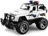 Zhangl Drahtlose Fernbedienung Feuerwehrauto Polizeiauto Modellsimulation Sound and Light Electric Spielzeug-Auto Große Fernbedienung Off-Road-Spielzeug-Auto wiederaufladbare Rettungs-Spielzeug-Auto